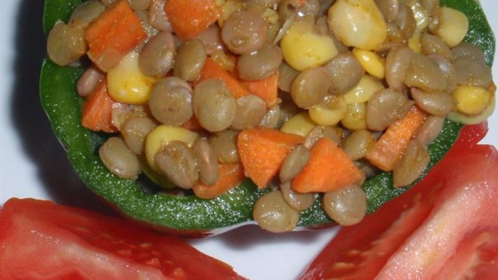 Photo of Curried Lentil Salad by Cynthia Phillips
