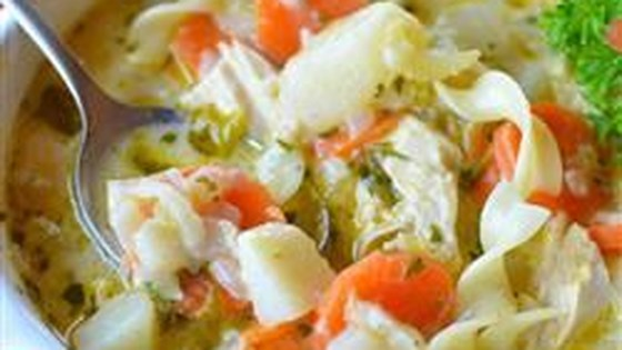Photo of Mom Moak's Chicken Noodle Soup by carolann