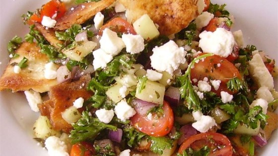 Photo of Arabic Fattoush Salad by Sonja Taha