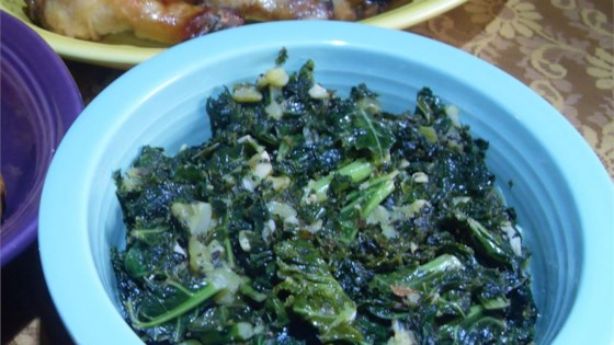 Photo of Kale with Kiwi by Always Cooking Up Something