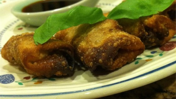 Beef and Sausage Fried Wontons