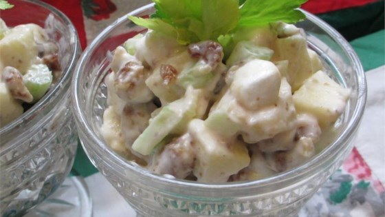 Photo of Date-Marshmallow Waldorf Salad by Linda