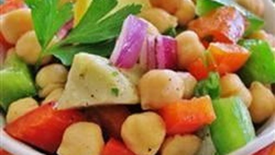 Photo of Garbanzo Bean and Pepper Salad by JulesDiner