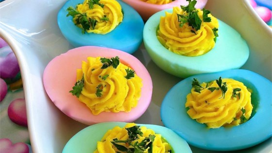 Photo of Easter Deviled Eggs by NancyClancy