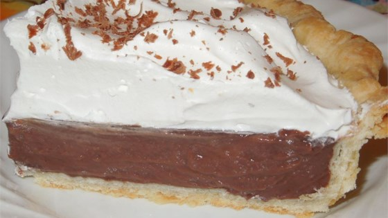 Sugar Free Chocolate Pie Filling Recipe