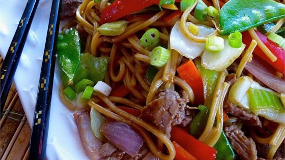 Photo of Beef Lo Mein by Rachel