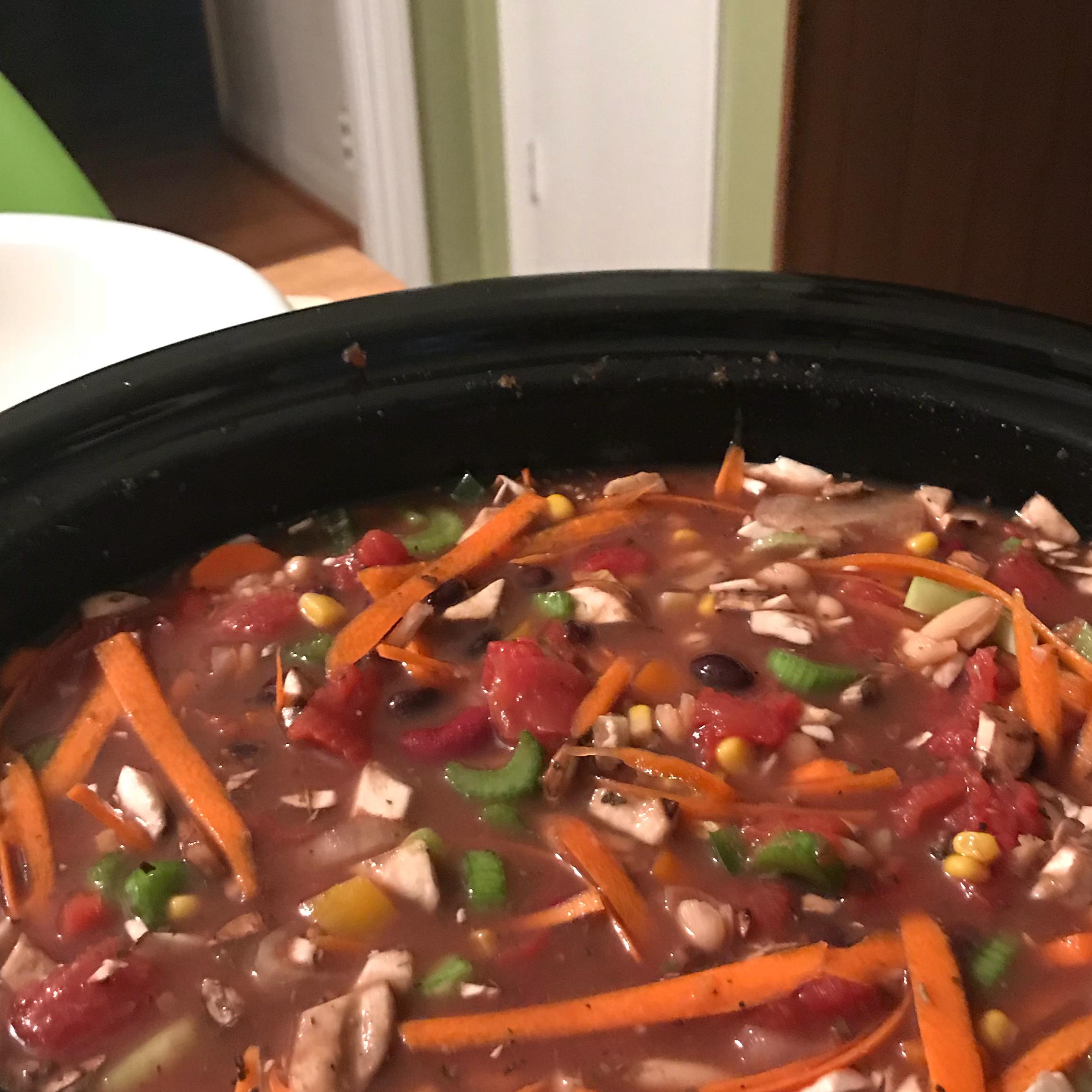Insanely Easy Vegetarian Chili Recipe Allrecipes