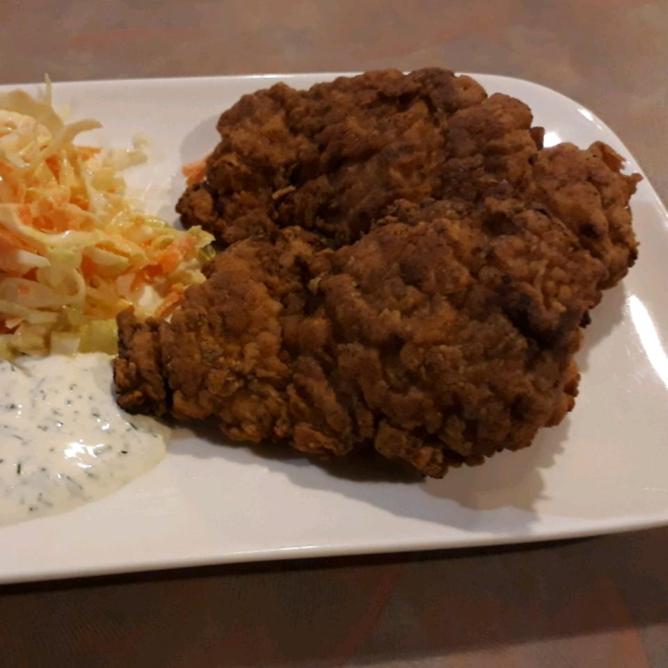 Chef John's Buttermilk Fried Chicken Wolfie