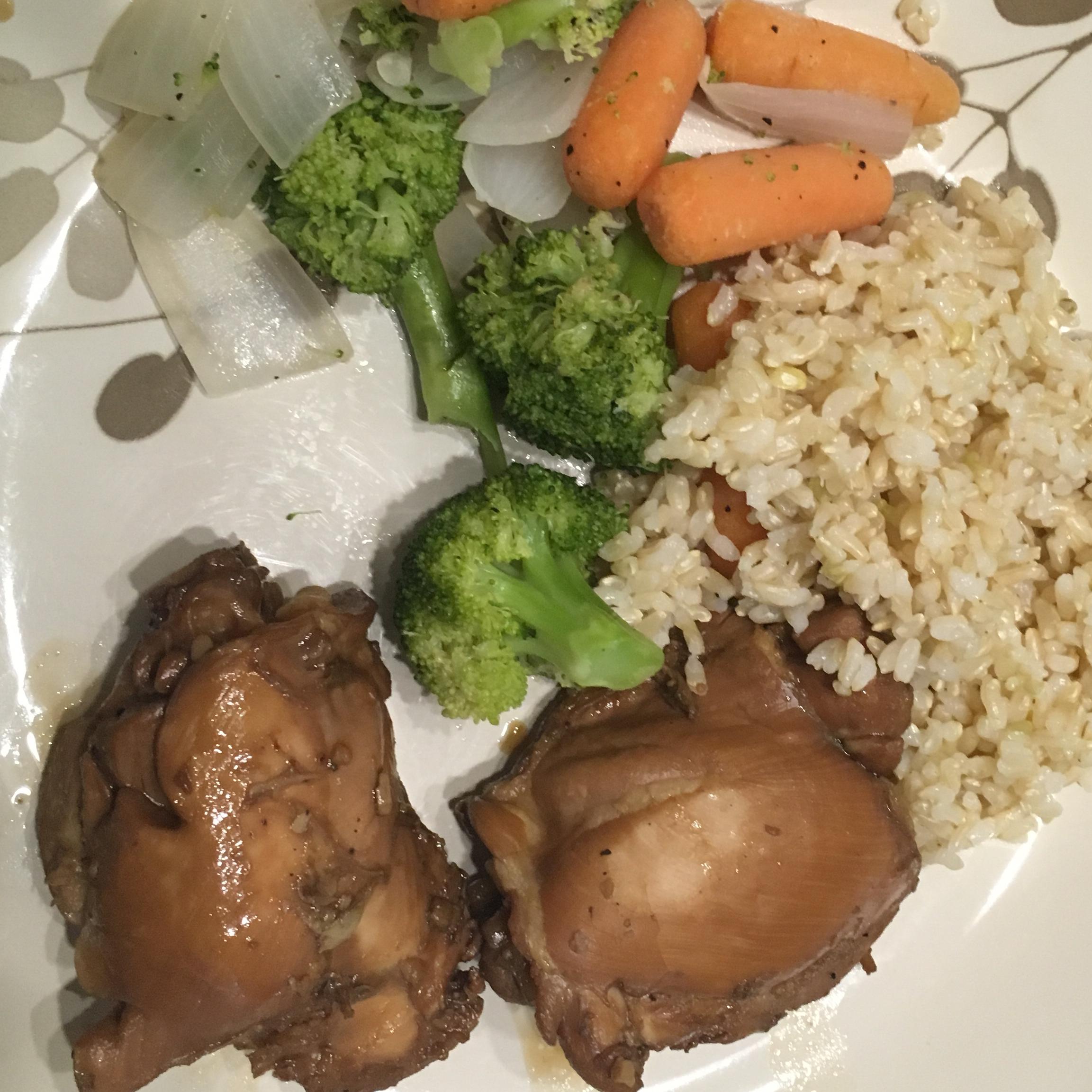 Grilled Chicken Adobo michelleitsme