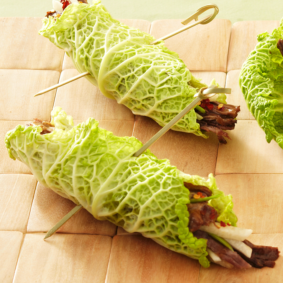 Asian Beef Cabbage Wraps Diabetic Living Magazine