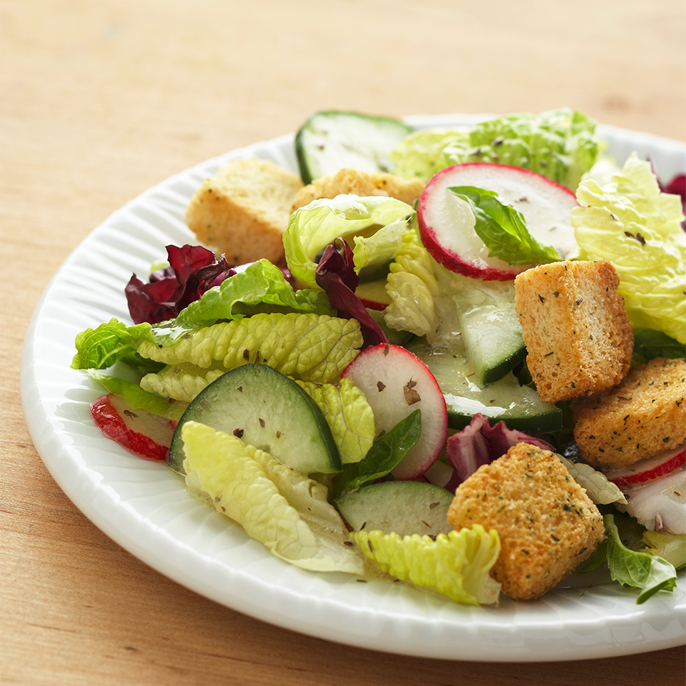 Spring Greens with Dijon Vinaigrette Diabetic Living Magazine