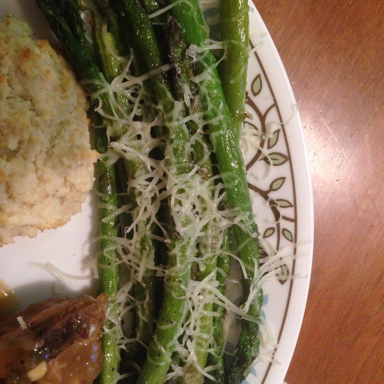 Asparagus Parmesan James