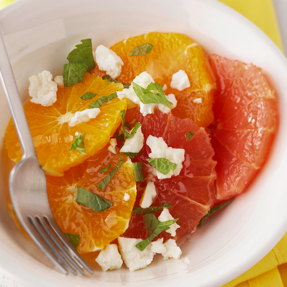 Citrus Fruit & Feta Salad Diabetic Living Magazine