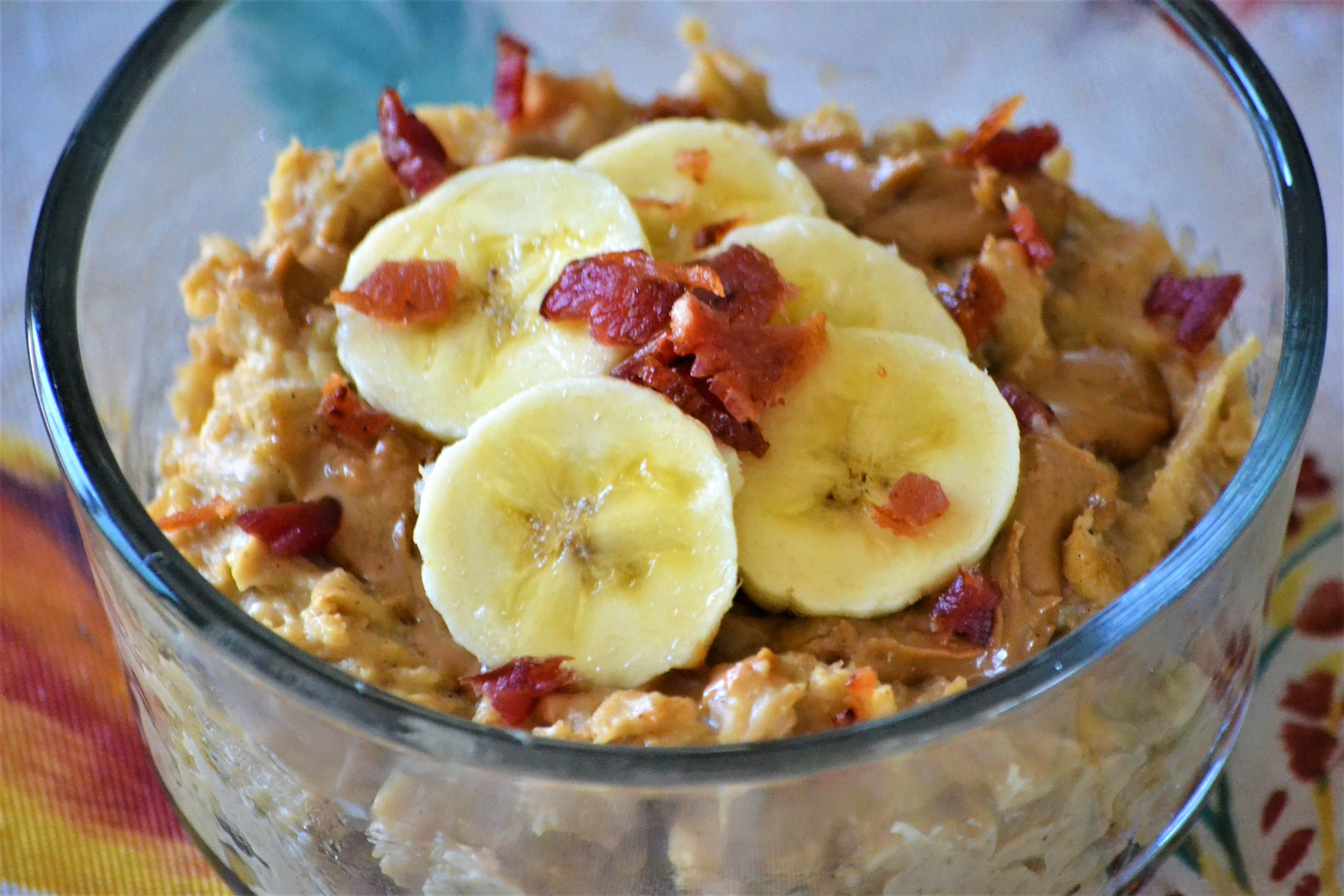 High-Protein Oatmeal Fit for the King
