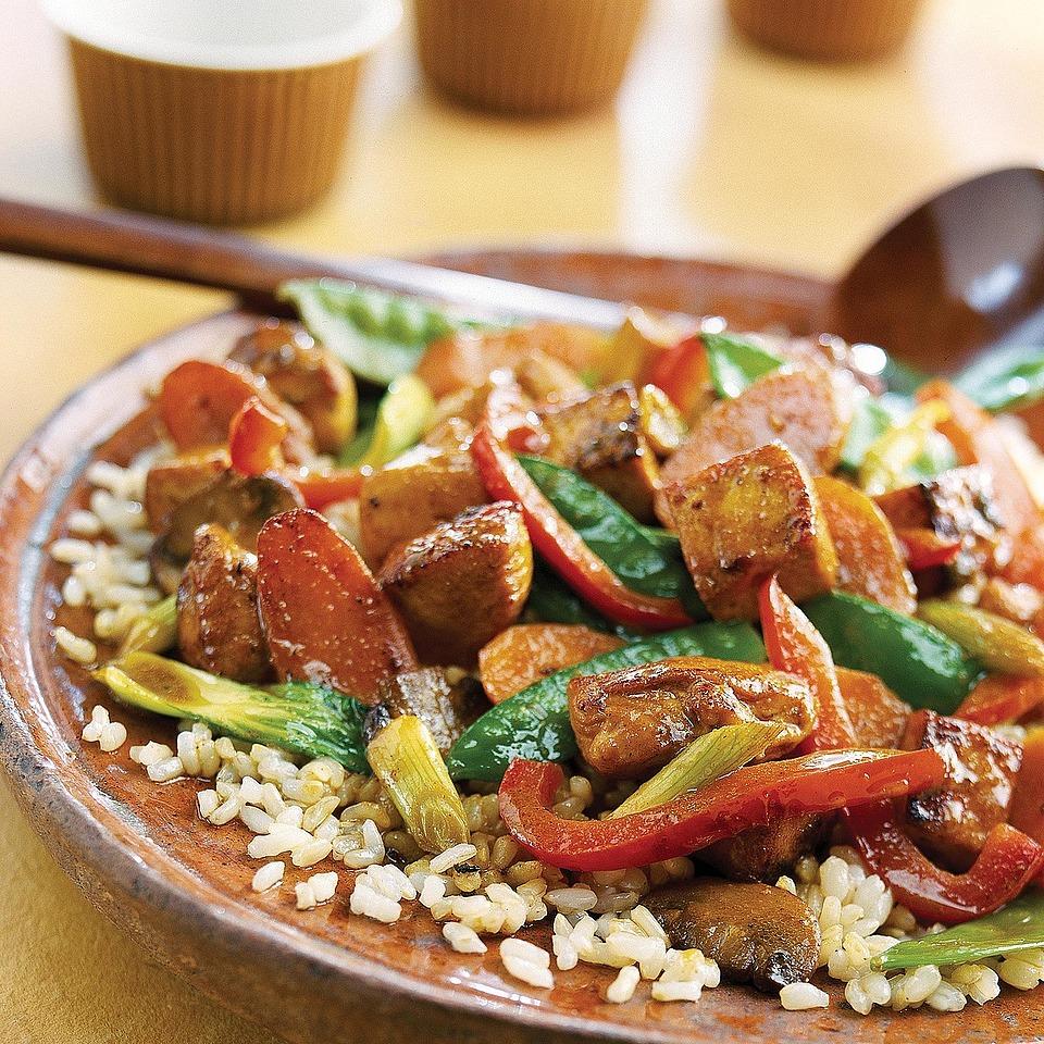 Chicken-Tofu Stir-Fry Diabetic Living Magazine
