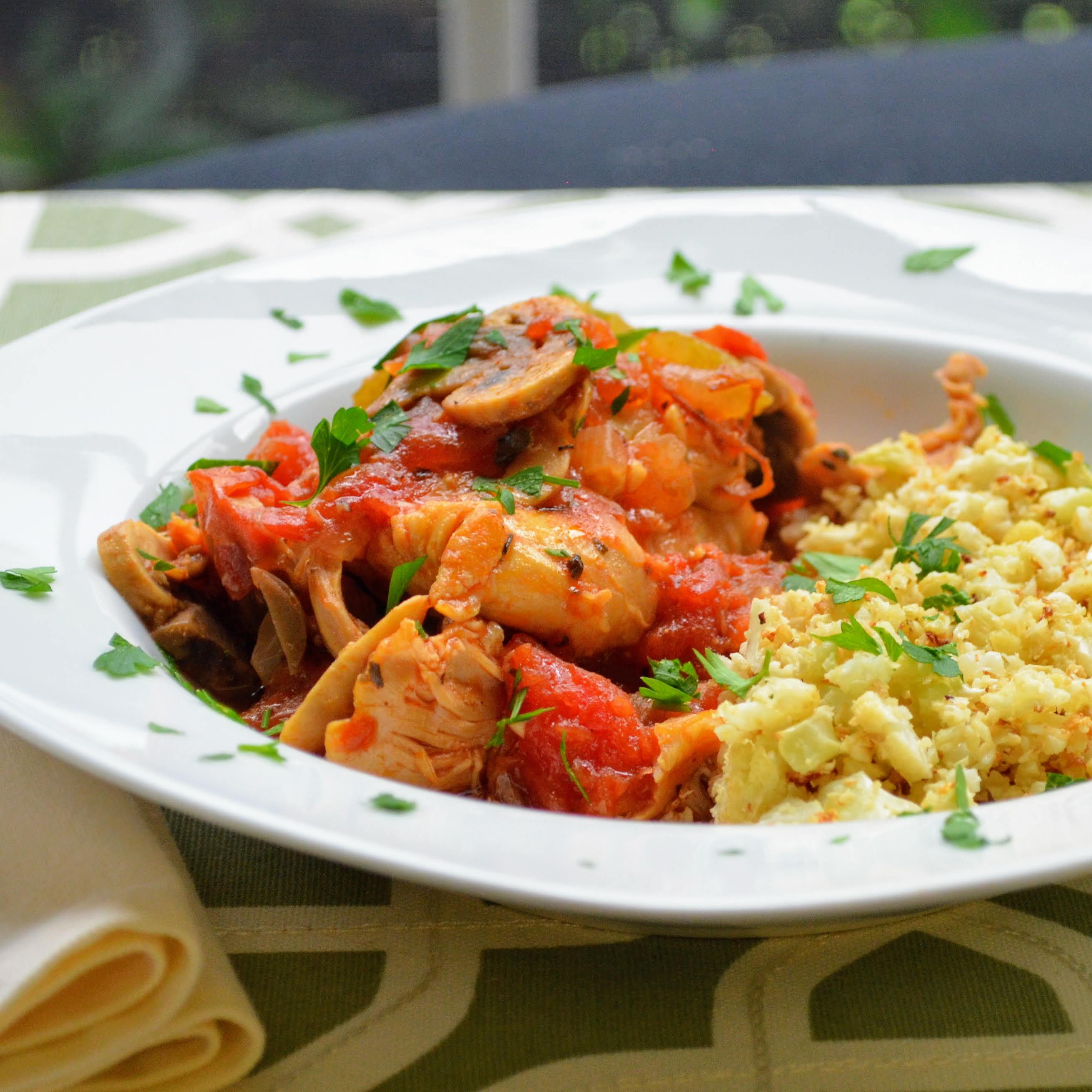 Instant Pot(R) Chicken Cacciatore Kim's Cooking Now