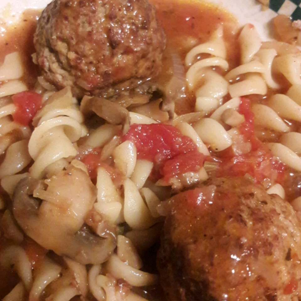 Meatball Noodle Onion Stoup Michelle Seace Traino