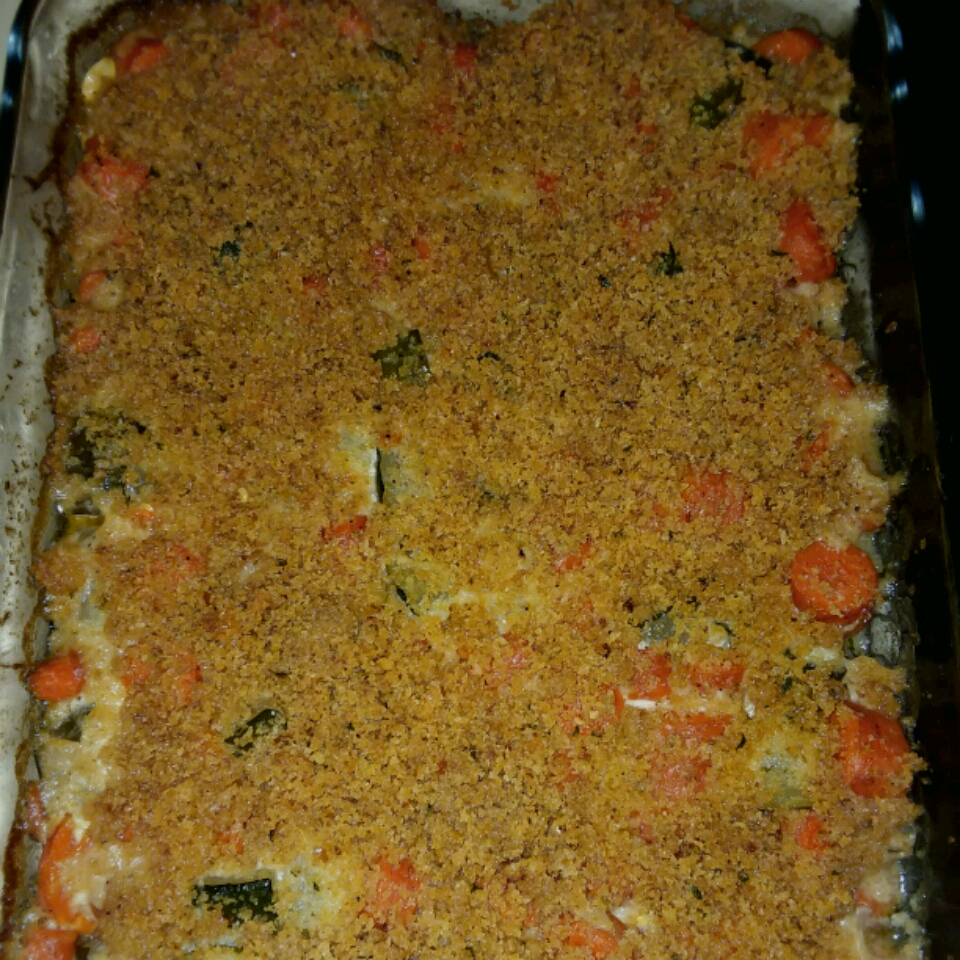 Carrot Zucchini Casserole wes