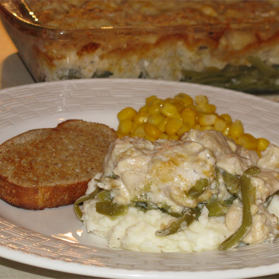 Chicken and Green Bean Casserole Lindsay Anderson