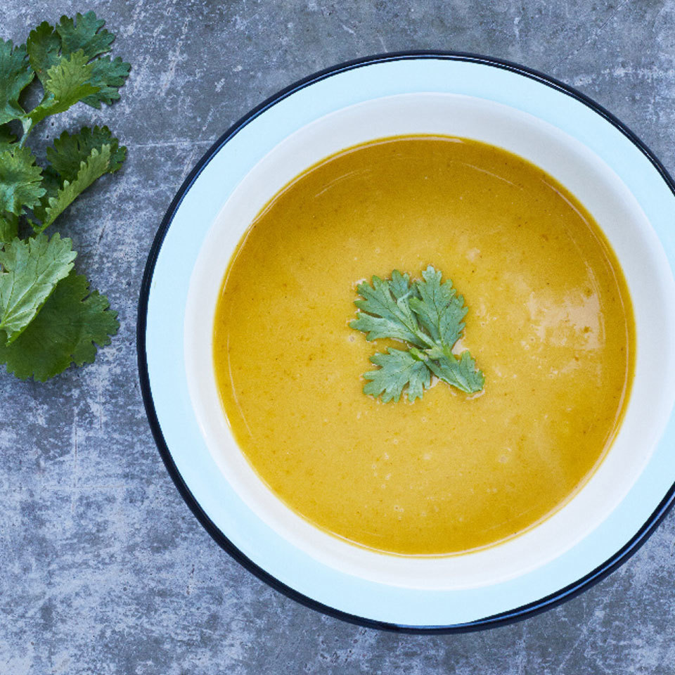 Skip the roasting in this butternut squash soup recipe and let your slow cooker do the work instead. Just load up all the ingredients into the crock pot, set it and forget it for an easy, healthy dinner or packable lunches.