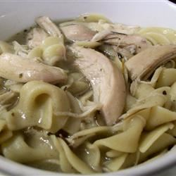 Rosemary Chicken Noodle Soup Brittany0424