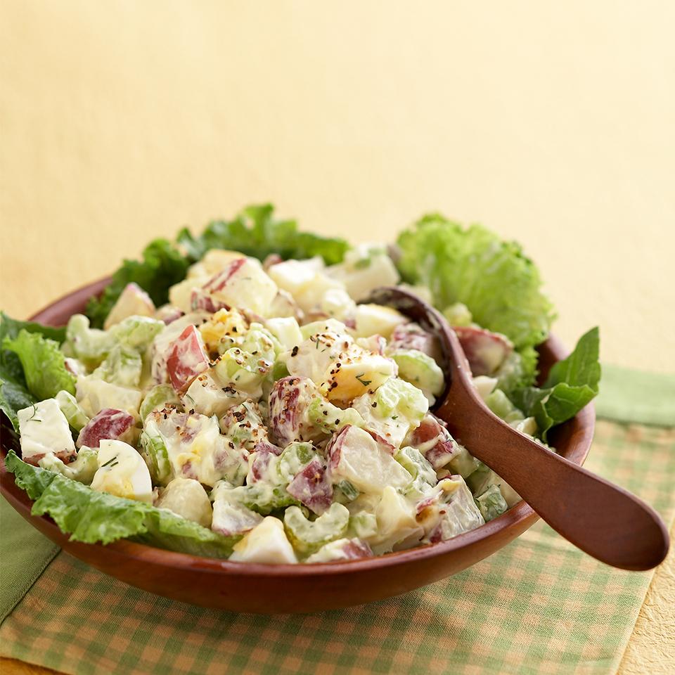 Creamy Classic Potato Salad Diabetic Living Magazine