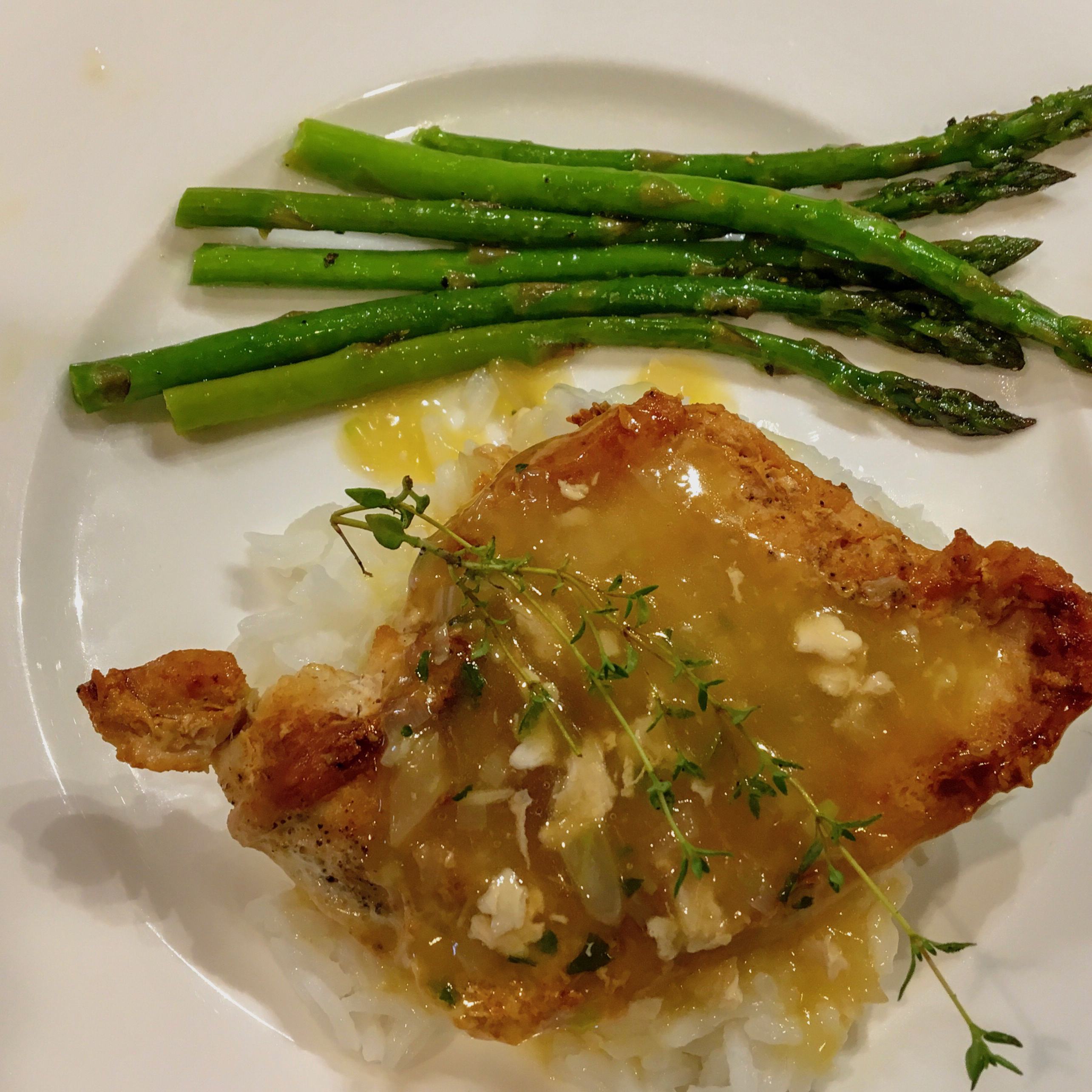 Pan-Seared Chicken Breasts with Shallots image
