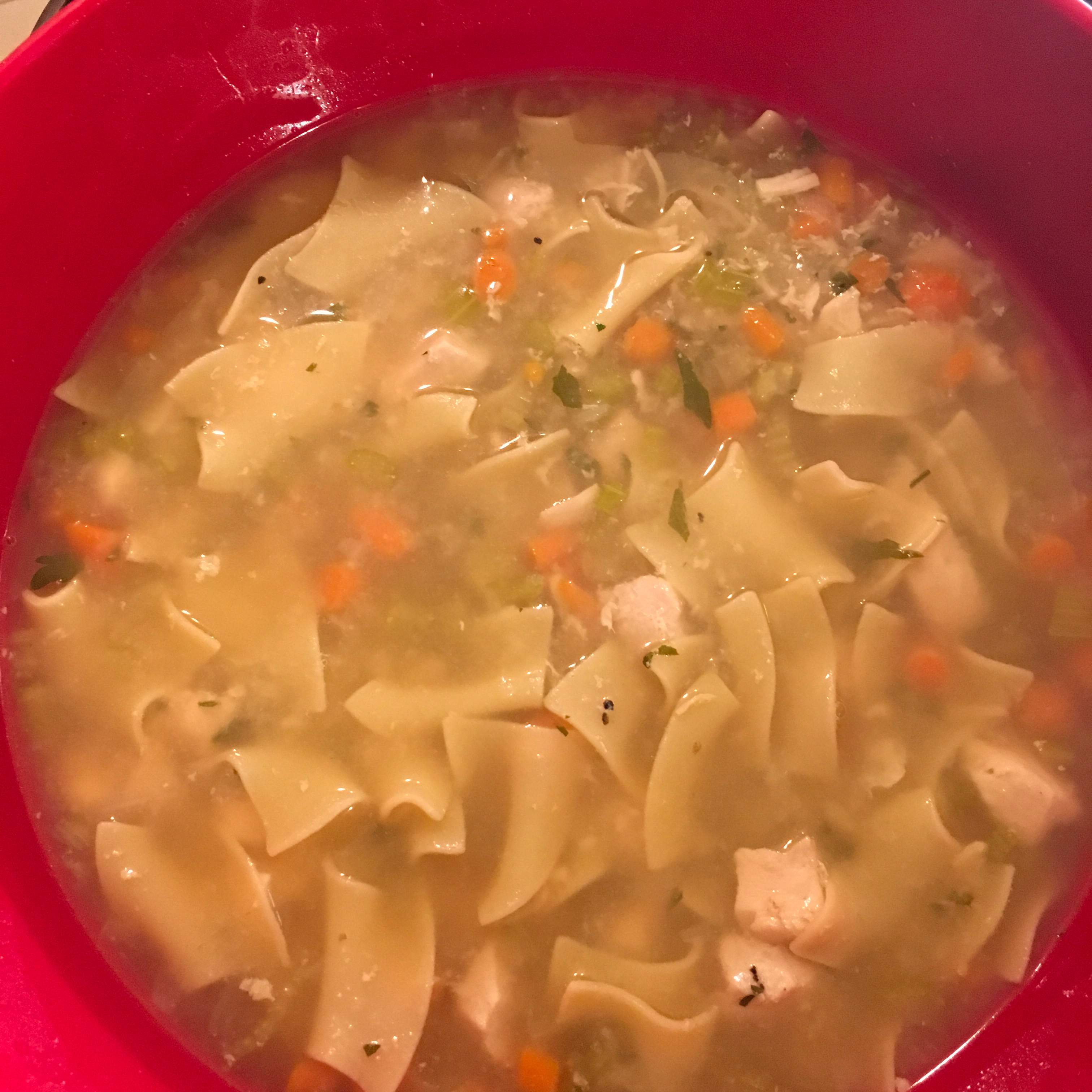 Quick and Easy Instant Pot(R) Chicken Noodle Soup Mary Jaye Morgan