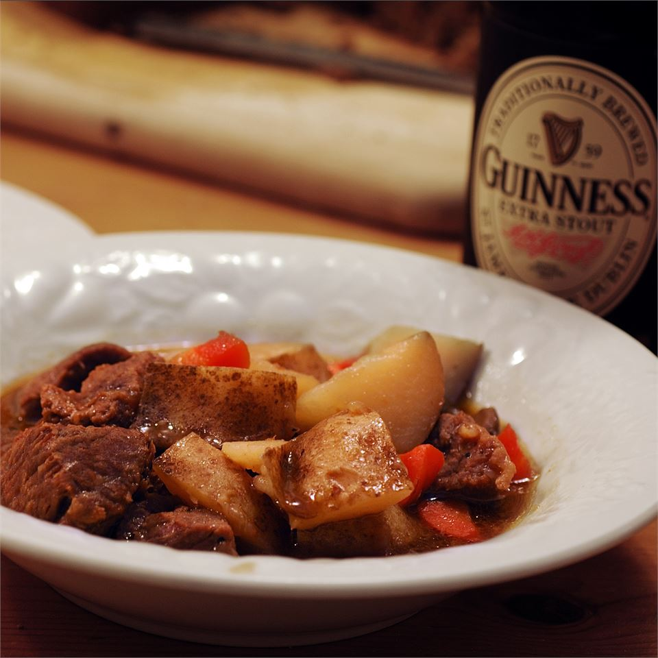 Irish Beef Stew with Guinness(R) Beer