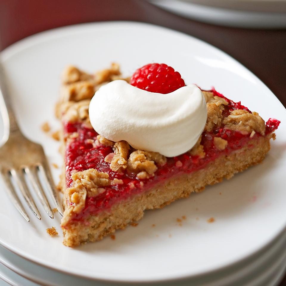 Raspberry-Oatmeal Wedges Diabetic Living Magazine