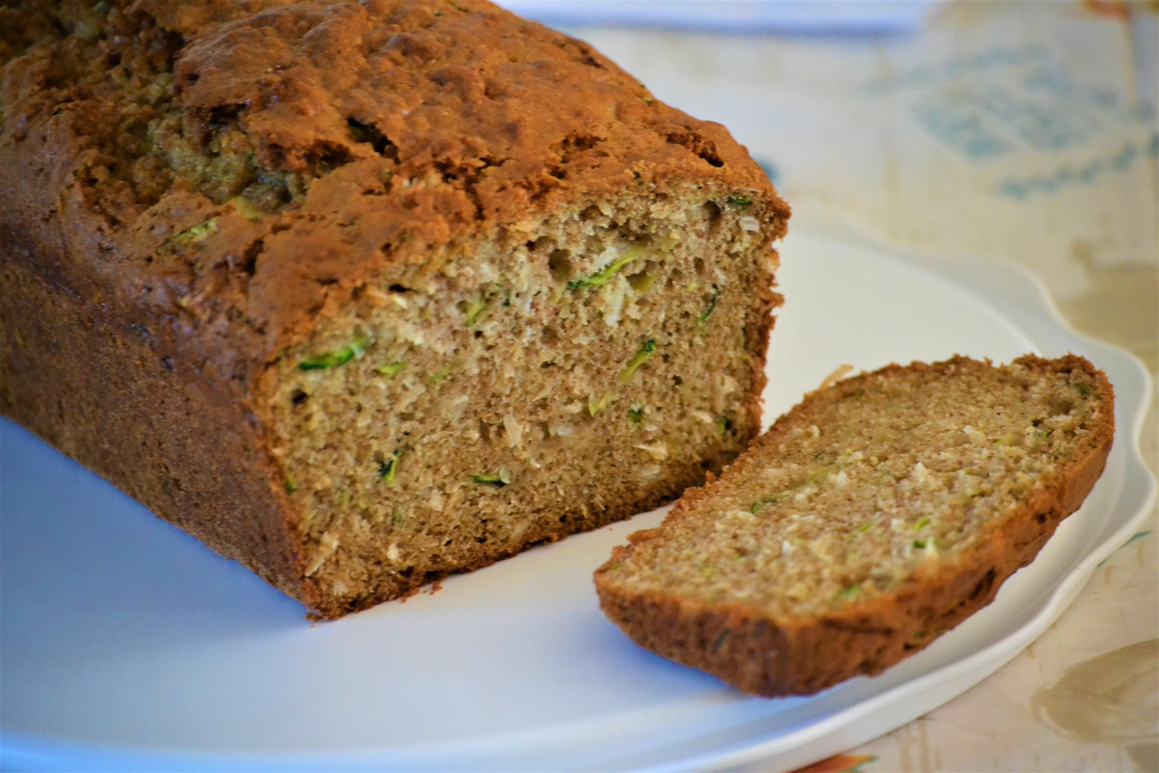 Zucchini Bread with Coconut