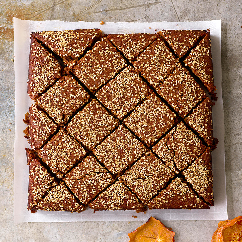 With all due respect to baklava, we've found a new favorite Lebanese dessert. This rich, moist cake is sweetened with carob molasses and has a hit of anise. We may or may not have fought over it in the Test Kitchen.