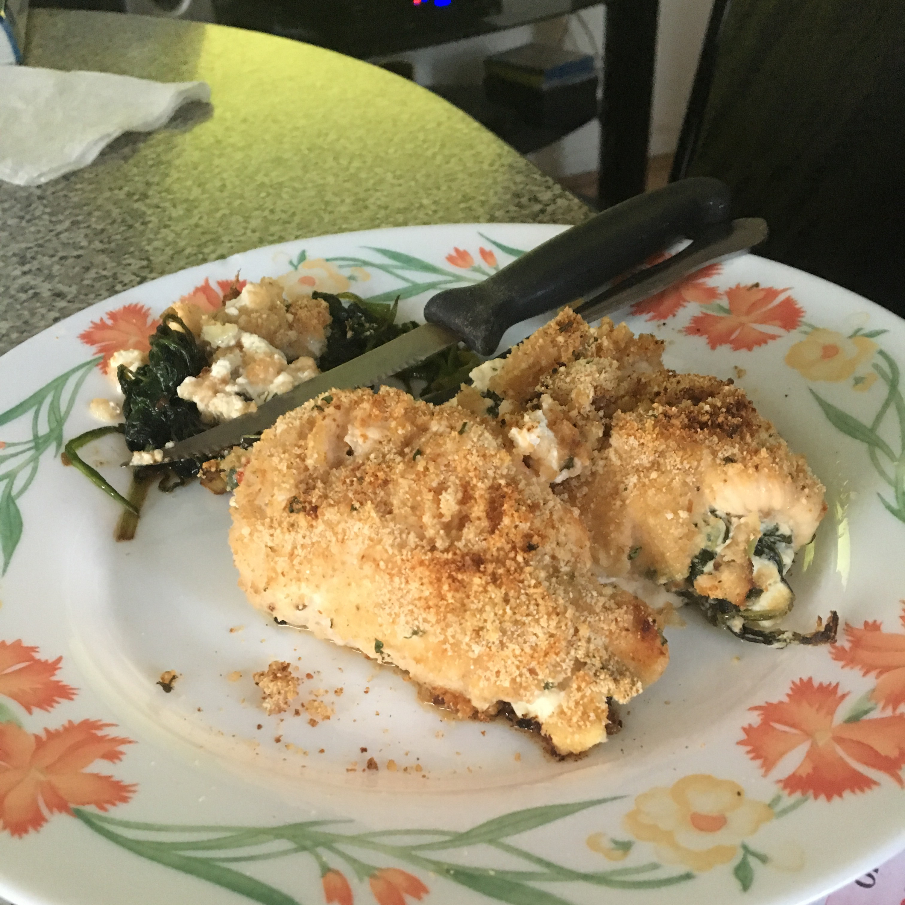 Chicken Breasts Stuffed with Perfection Henry Gutierrez