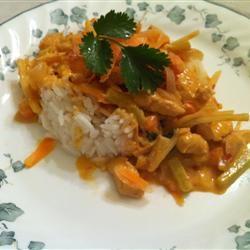 Thai Red Chicken Curry ansleyk21