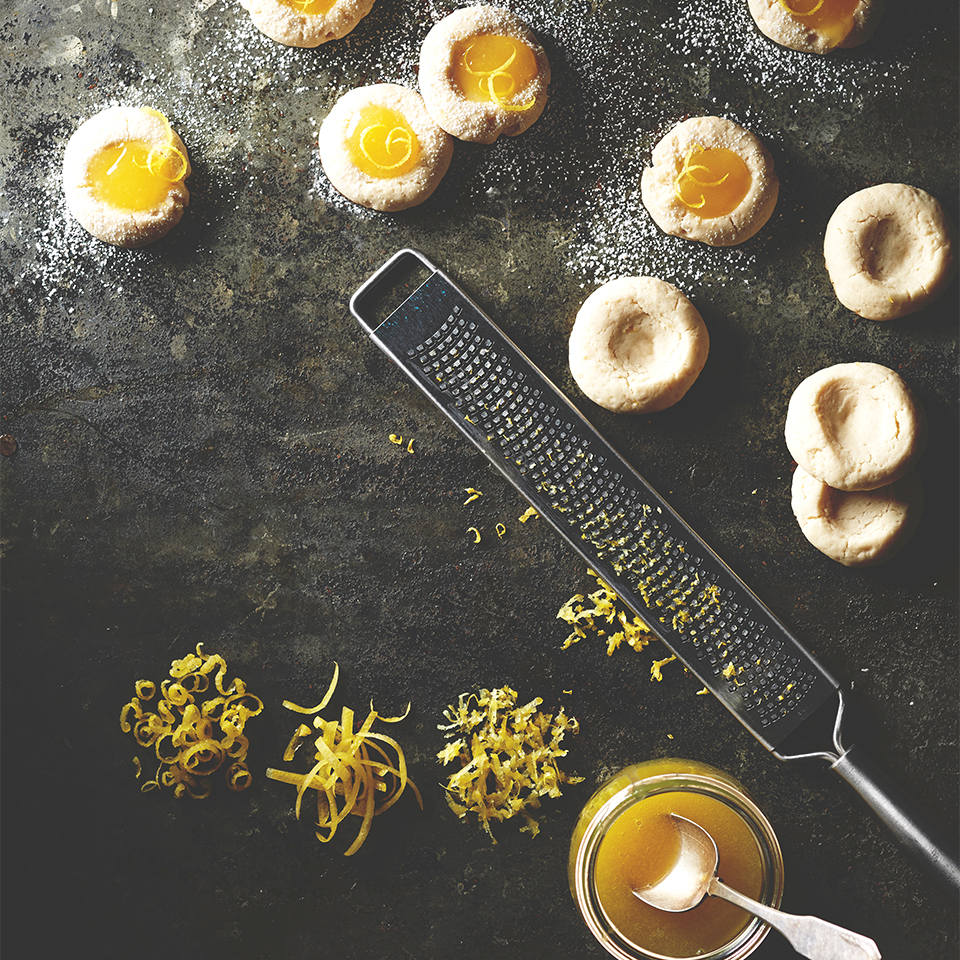 Enjoy these lemony cookies with a warm cup of tea.