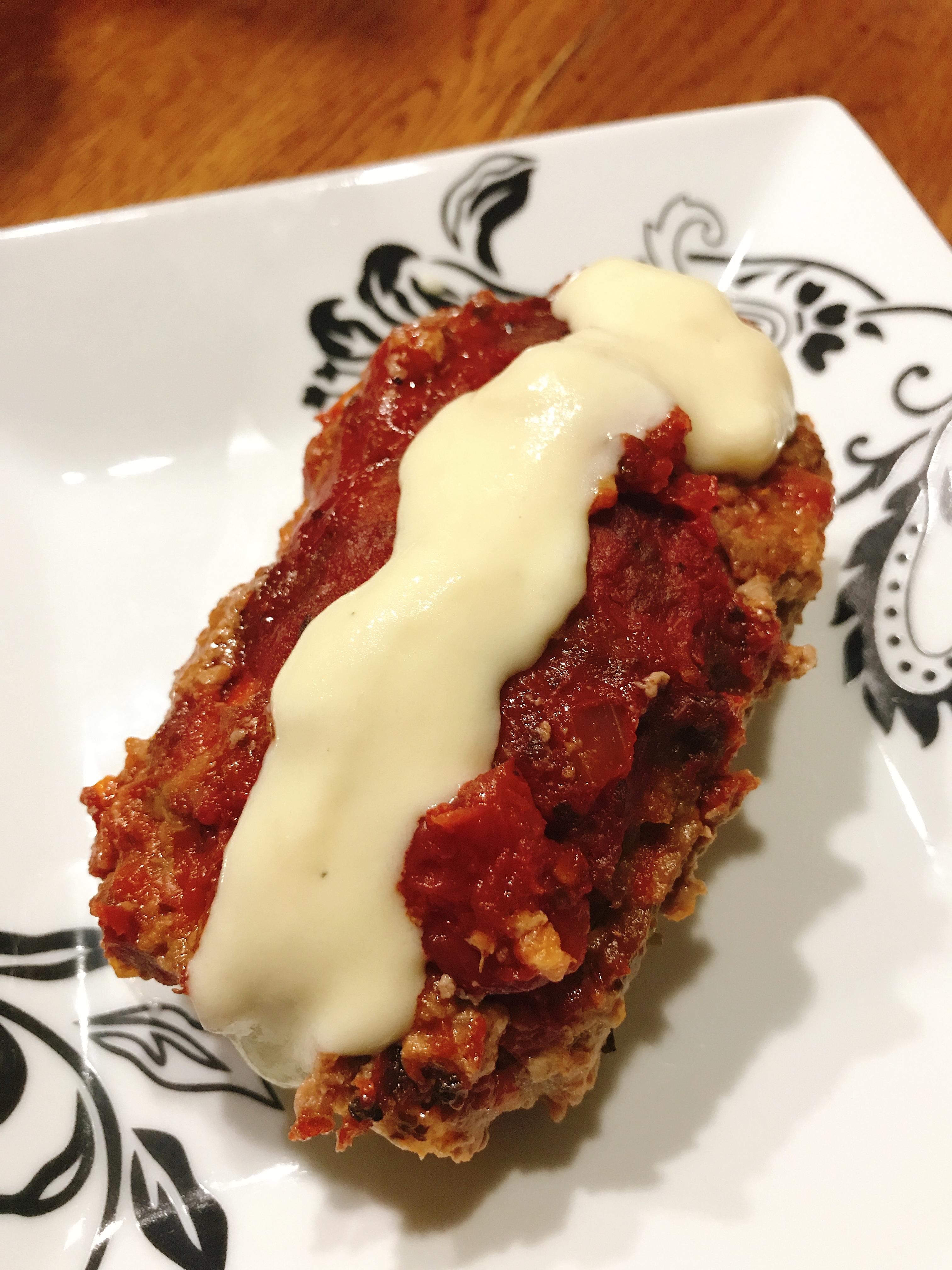 Fusion Lasagna Meatloaf