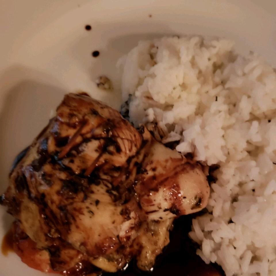 Caprese-Stuffed Chicken Breast with Balsamic Reduction Nicole Herreros