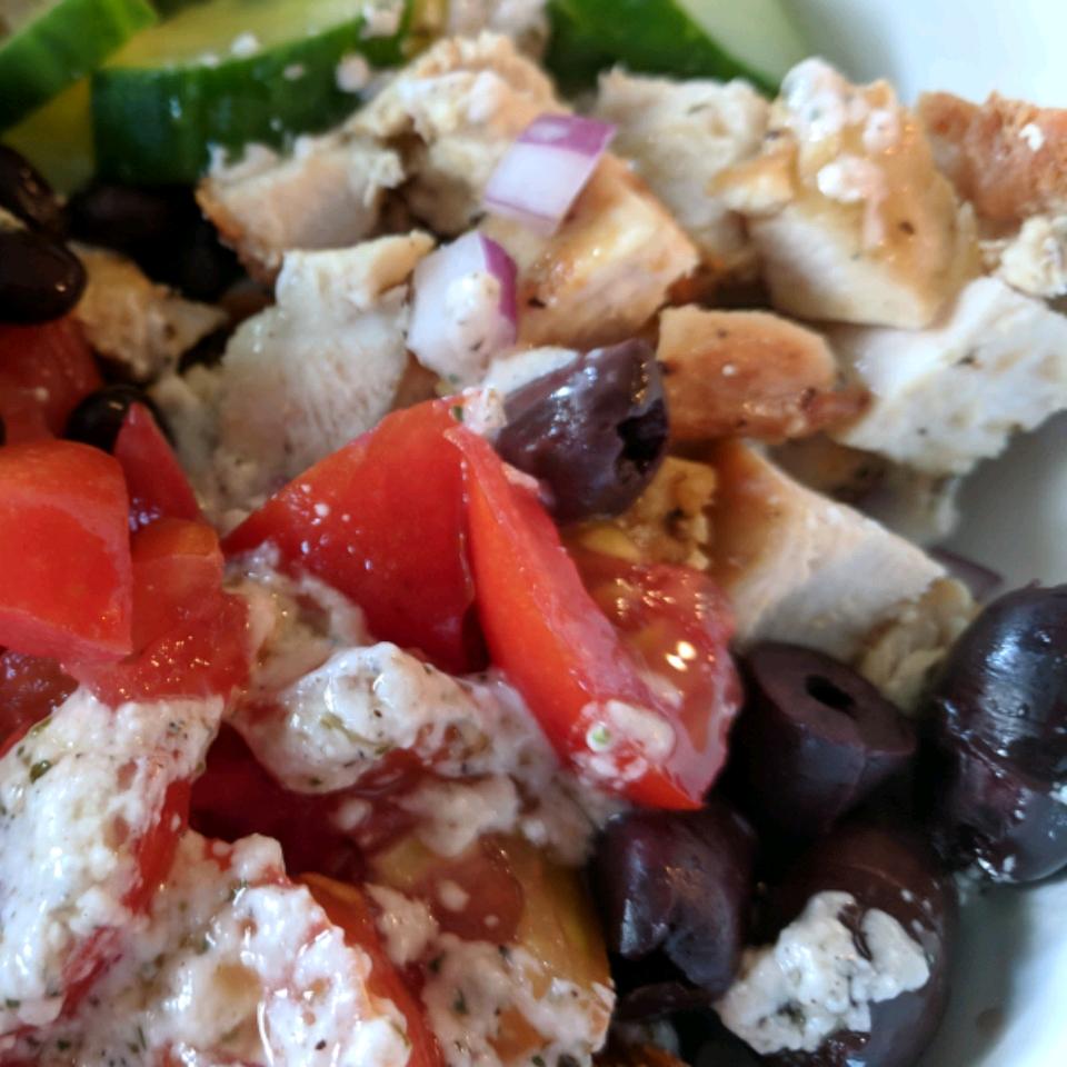 Greek Chicken Quinoa Bowl Mary Zink