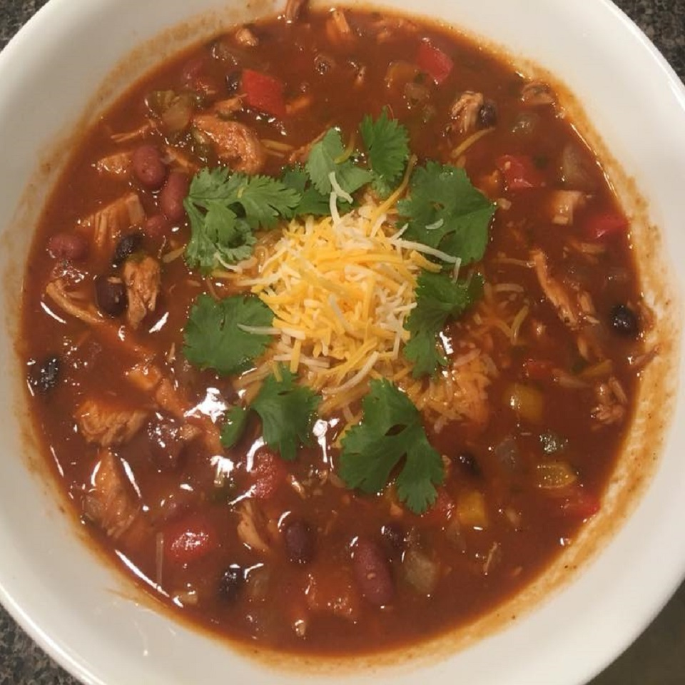 Chicken and Black Bean Chili Zane VanRiper