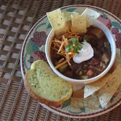 Slow Cooker Chicken Taco Soup Jewelsfn