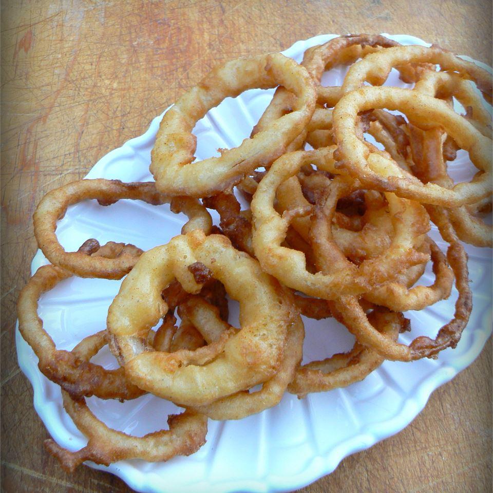 Beer-Batter Onion Rings