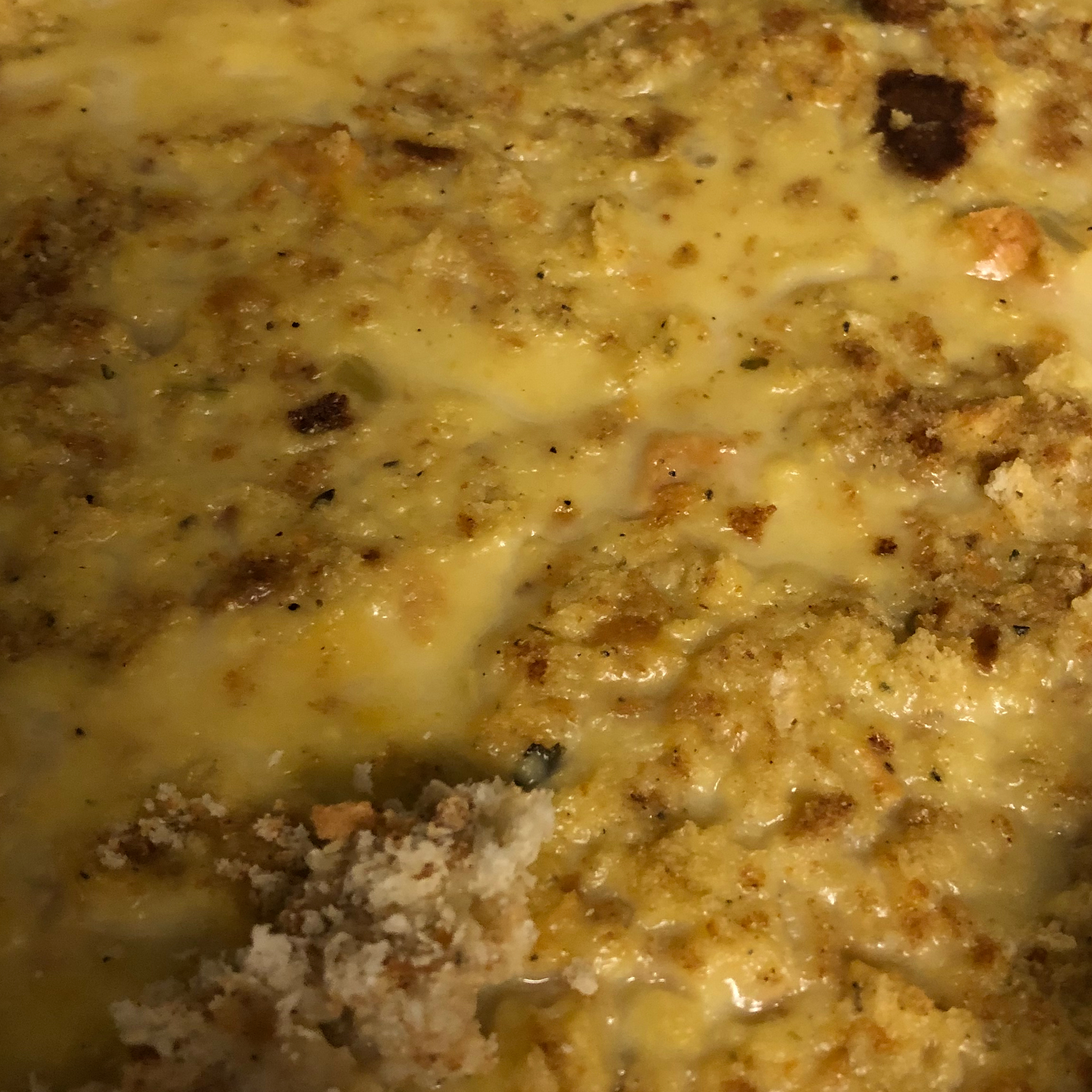 Chicken and Stuffing Casserole