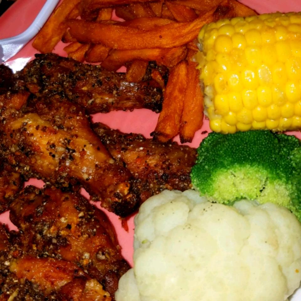 Easy Lemon Pepper Chicken Wings