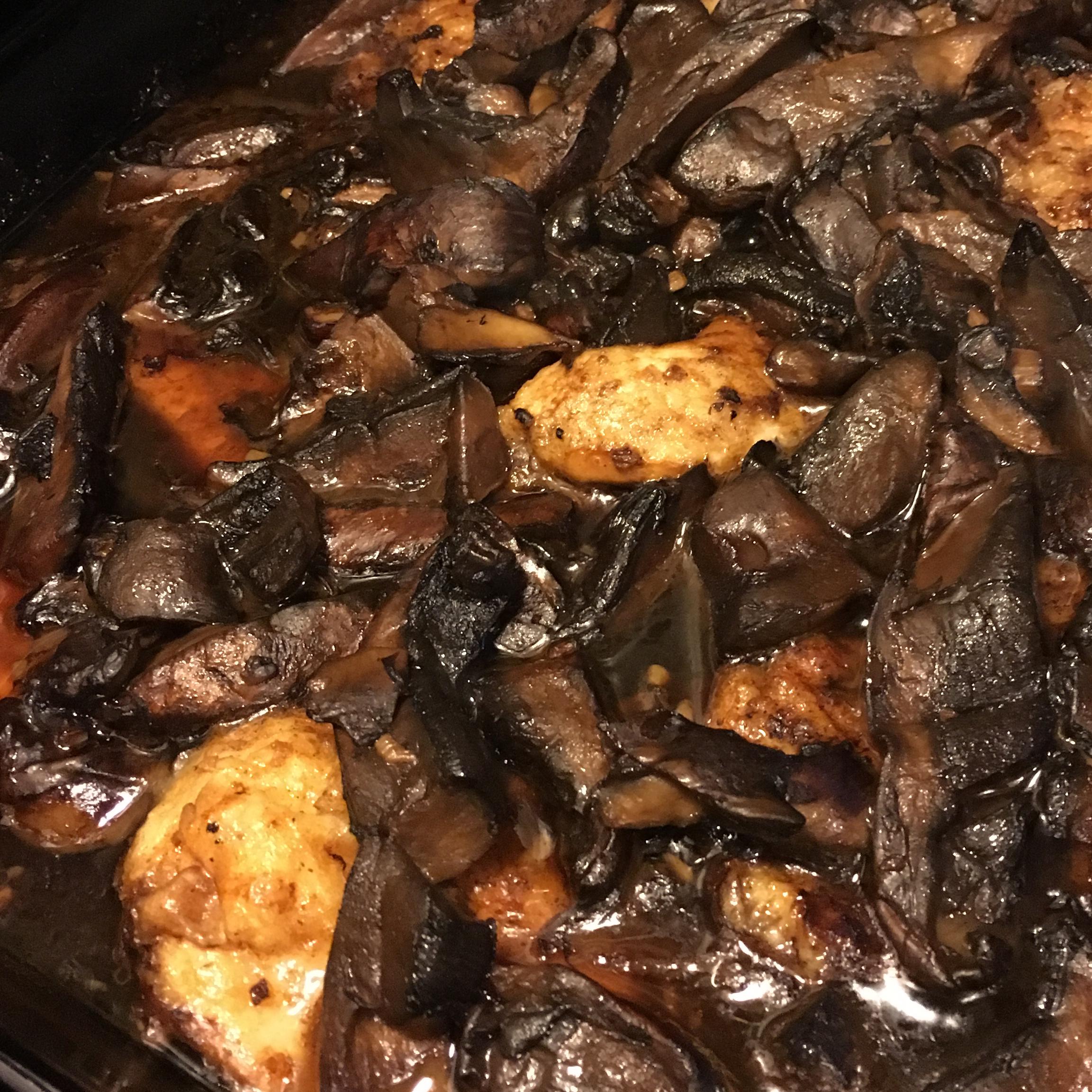 Chicken Marsala with Portobello Mushrooms