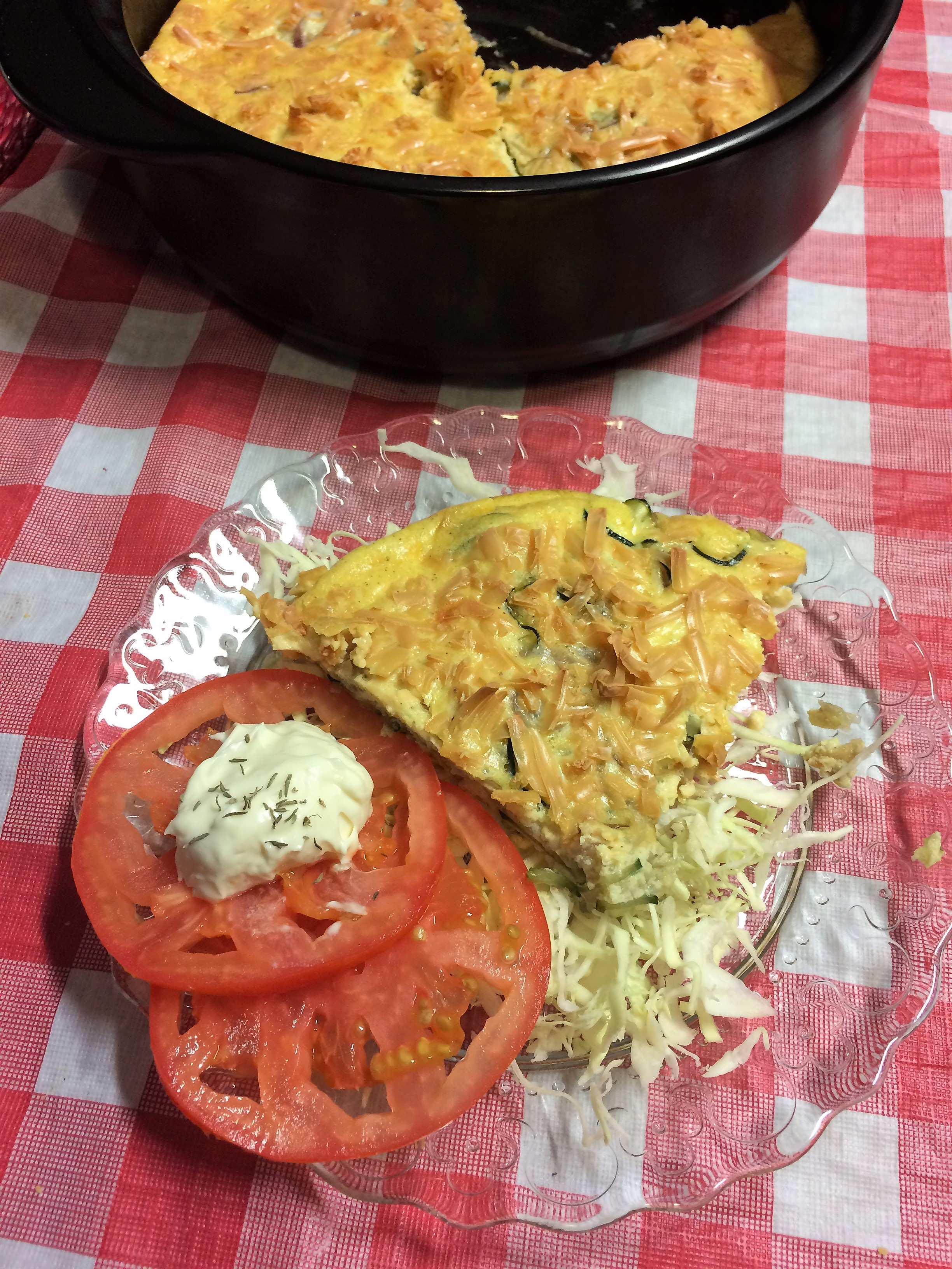 Easy Keto Zucchini Frittata