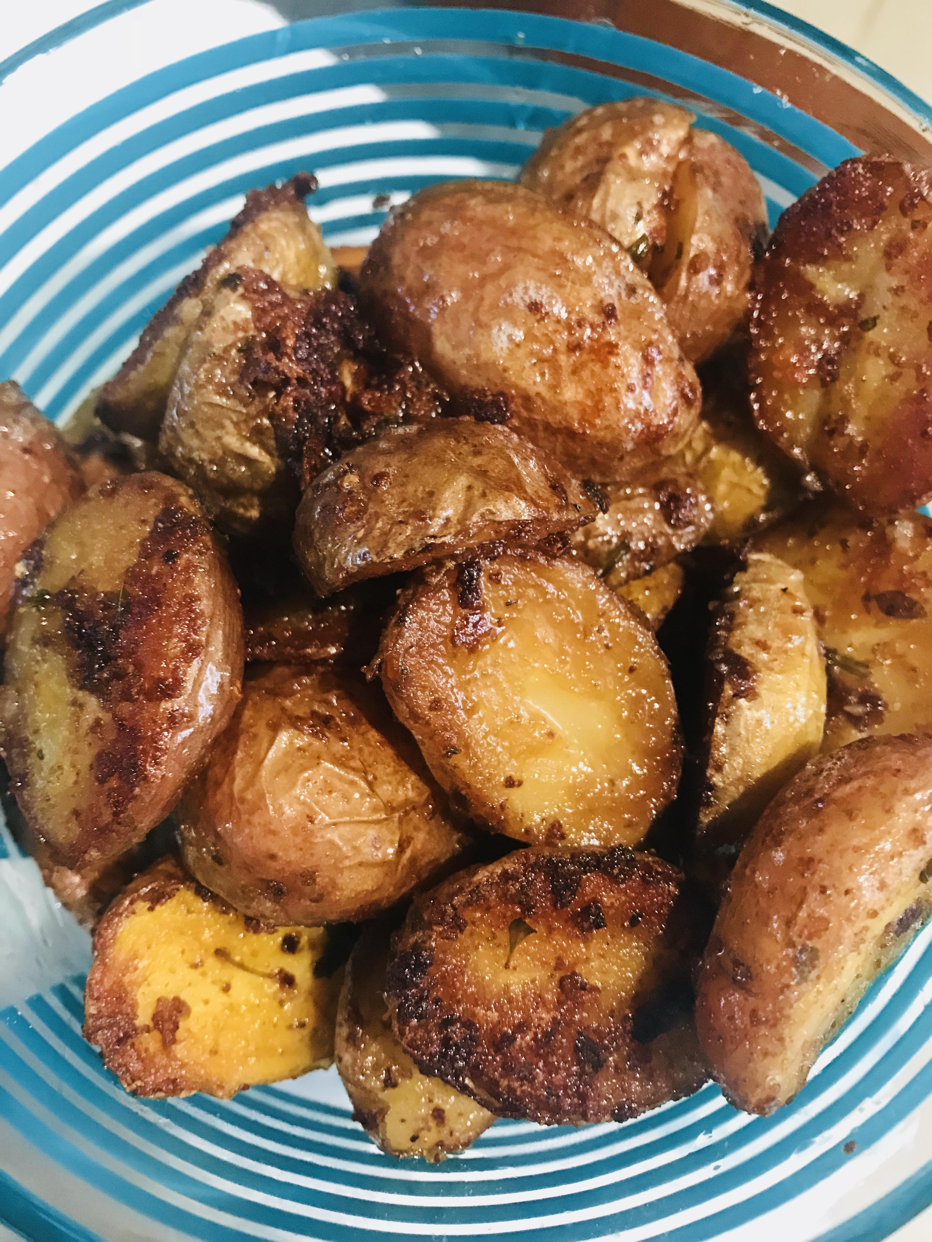 Instant Pot Garlic Roasted Potatoes Recipe Allrecipes