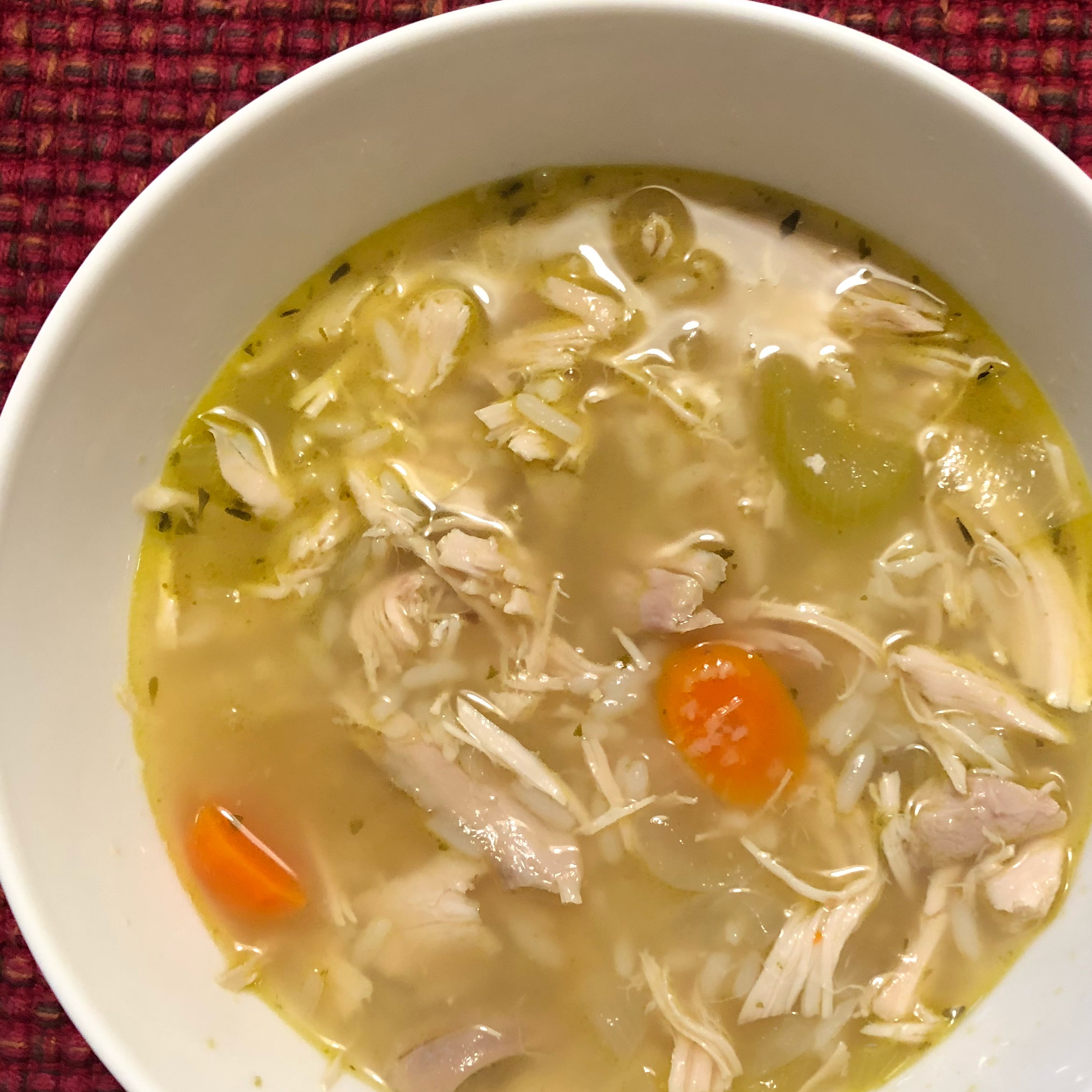 Classic Chicken and Rice Soup MommaRus