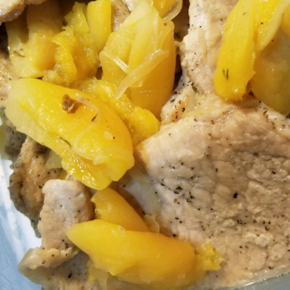 Slow Cooker Pork with Apricots