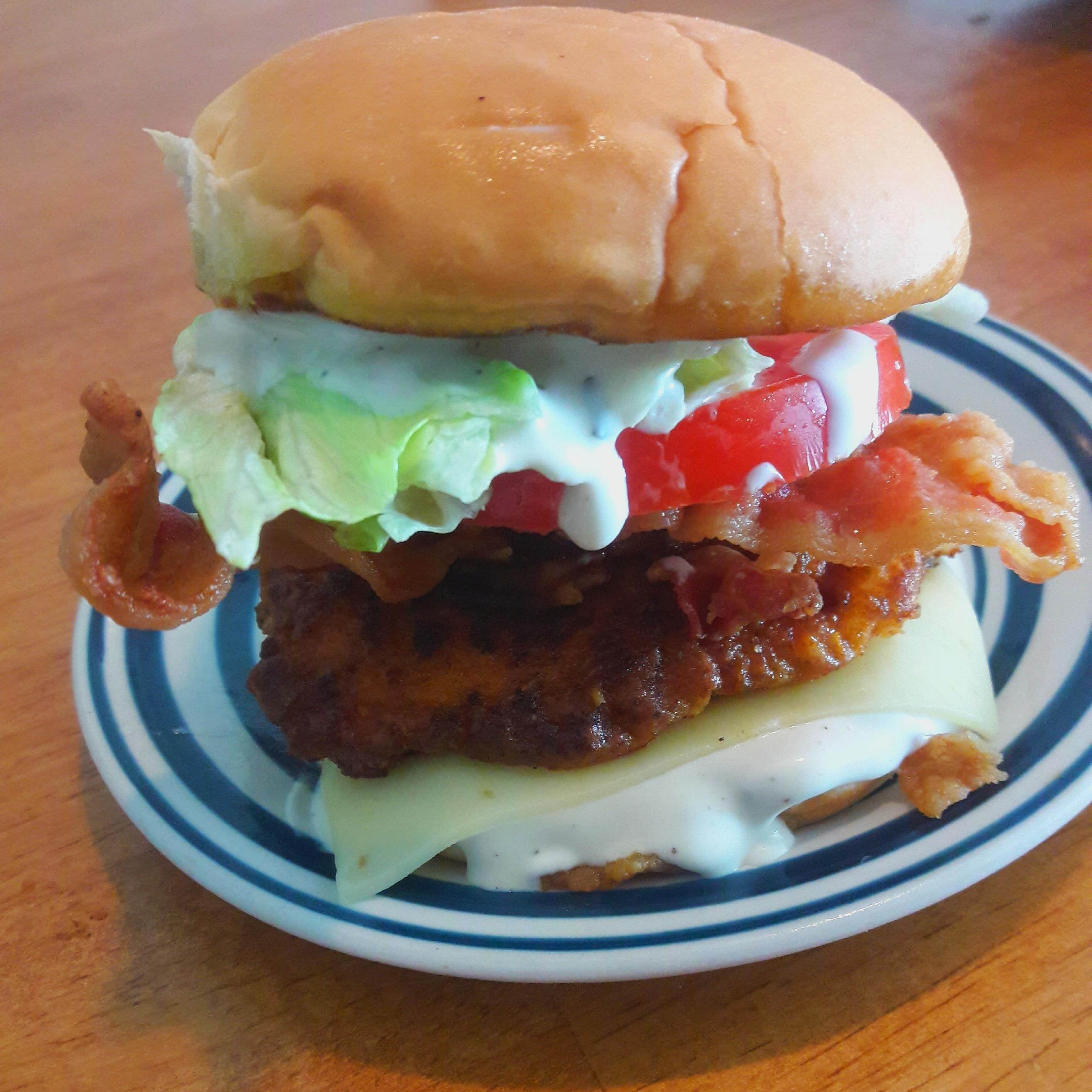 Two-Handed Crispy Fried Chicken Sandwiches Judy in Delaware