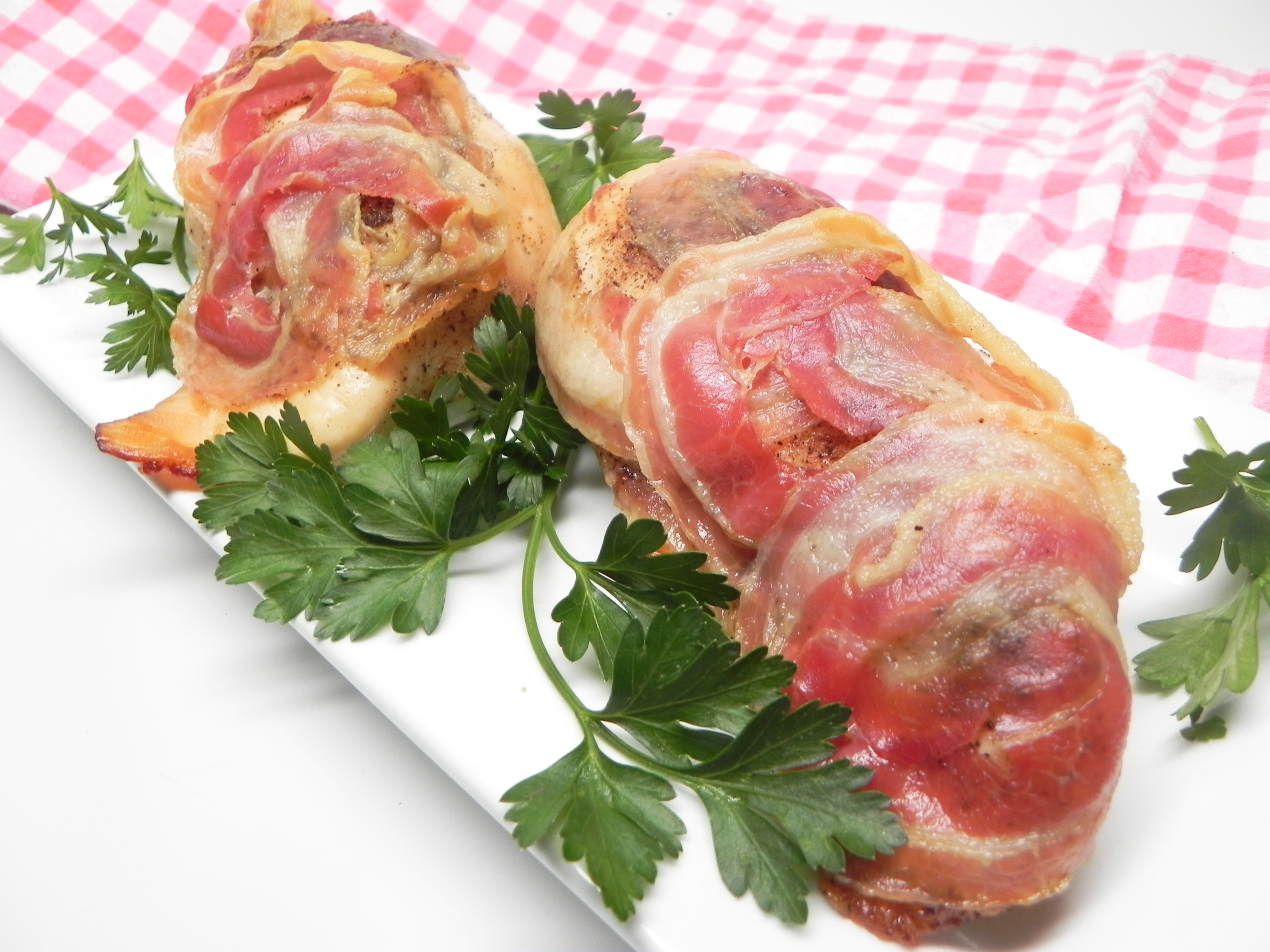 Capicola-Wrapped Chicken Breasts CHEDDAR97005